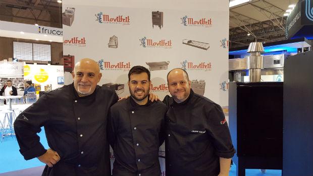 movilfrit-equipamiento-cocina-profesional-hosteleria-hostelco2016-equipo-de-chefs-corner-showcooking