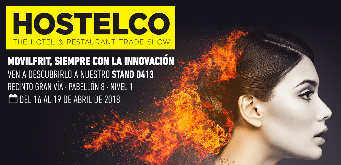 Estaremos en HOSTELCO 2018, del 16 al 18 de abril