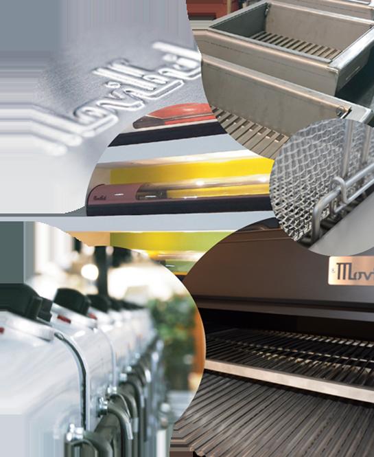 Diseño, fabricación y comercialización de maquinaria de calidad para la hostelería